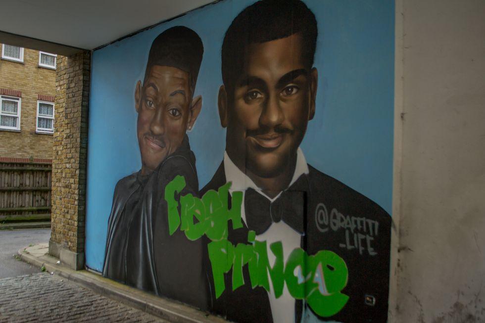 fresh prince graffiti