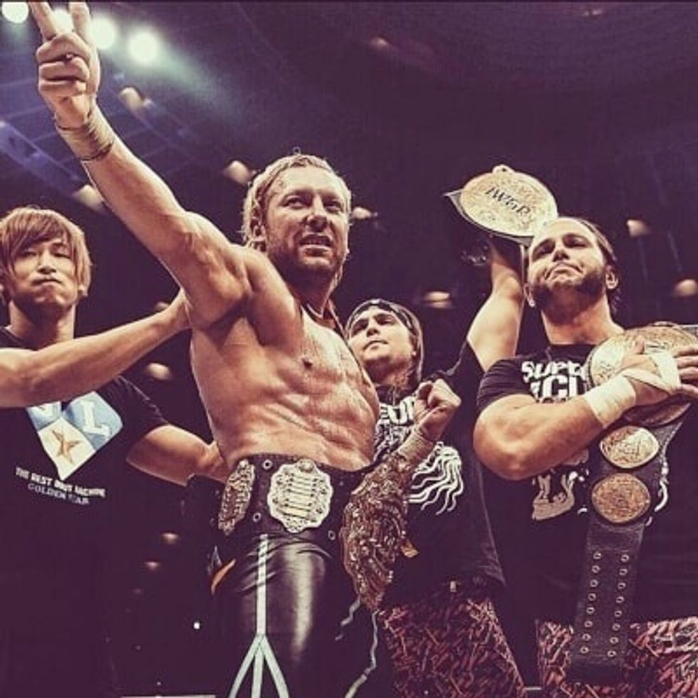 New Japan Pro Wrestling Is Finally A Major Player
