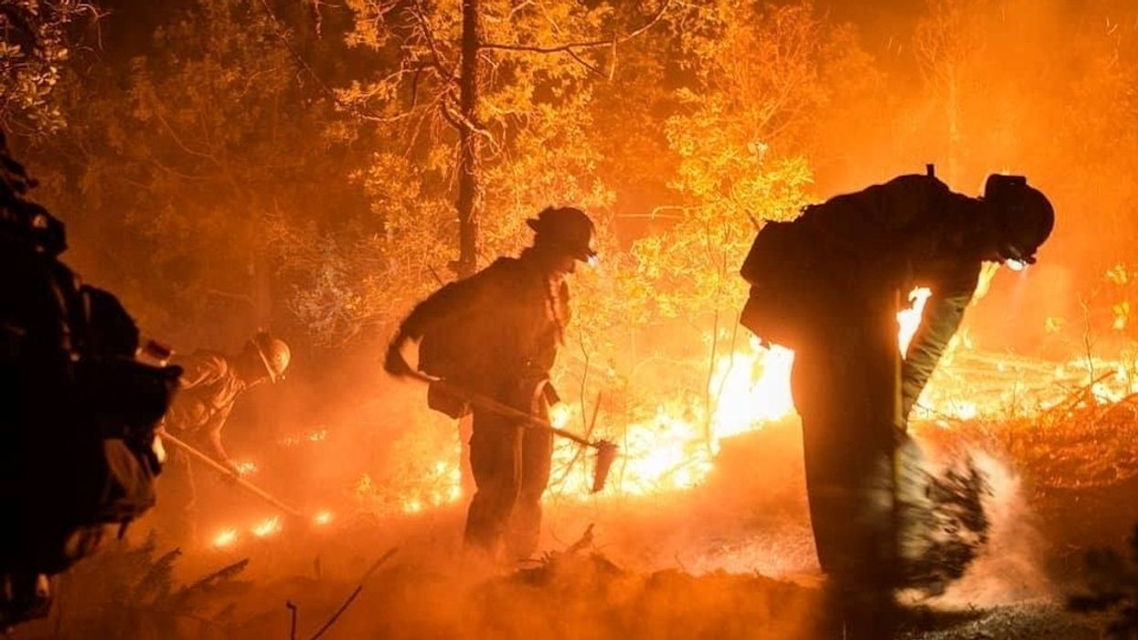 Large Wildfires Scorch Forests in Drought-Stricken Southwest