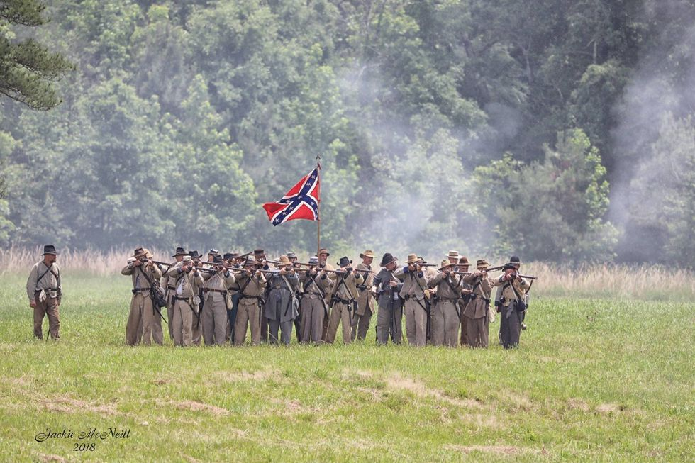 The 154th Anniversary Of The Battle Of Resaca
