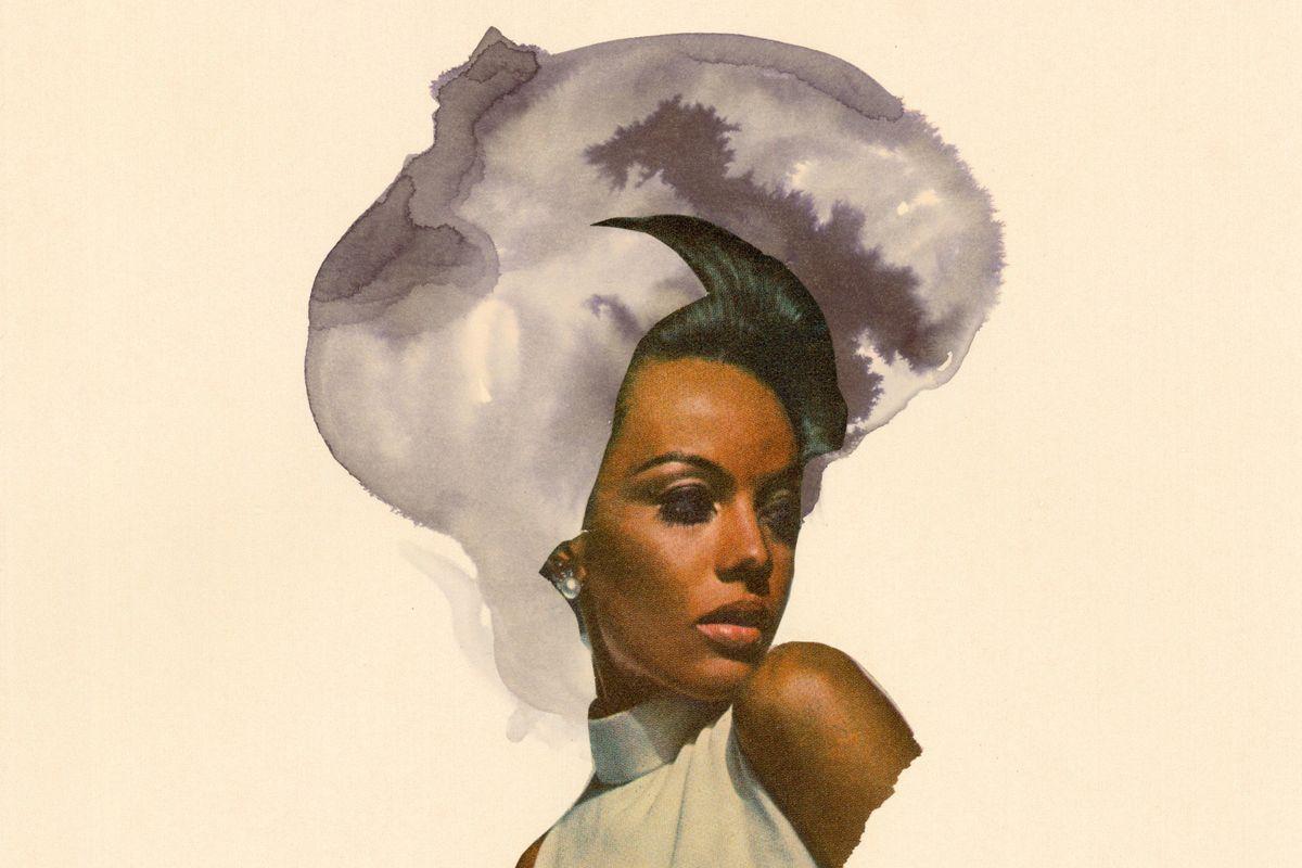 Lorna Simpson Celebrates Black Hair Using Old 'Ebony' Ads