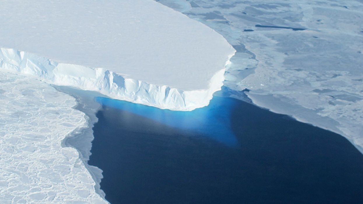 Antarctic Ice Melt Has Tripled in Five Years