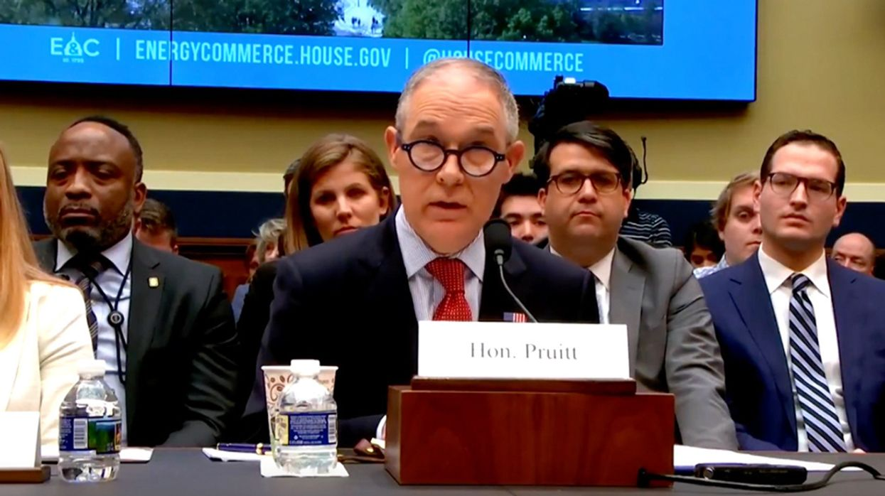 Chair of Senate Environment Panel to Call Scott Pruitt to Testify on Scandals