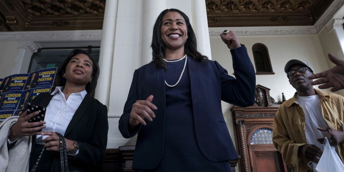 San Francisco Elects Its First Black Mayor, London Breed
