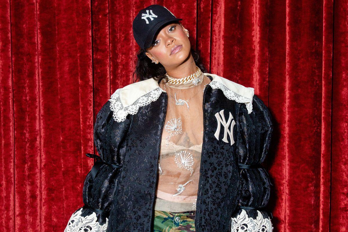 Rihanna Jokes About Her Habit of Taking Wine Glasses