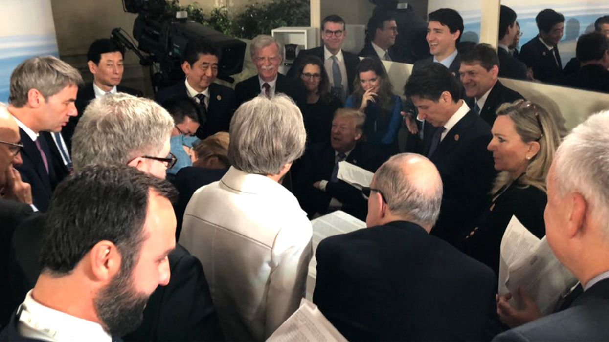 Trump Isolates U.S. on Climate, Ocean Plastics and Trade Following Contentious G7 Summit