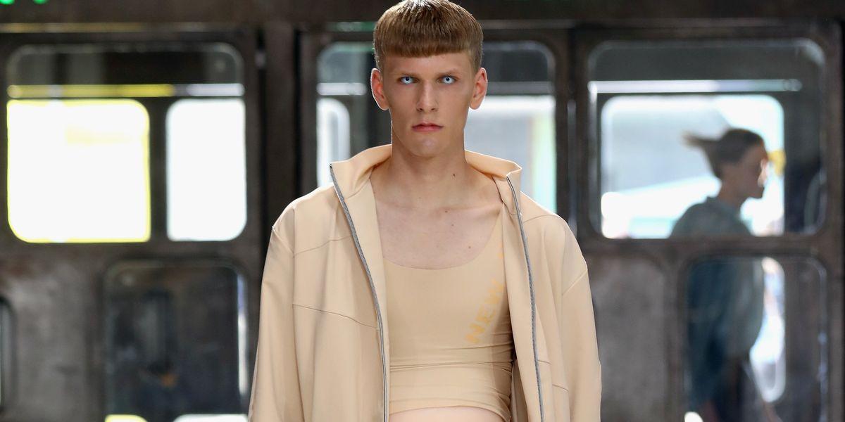 Male Pregnancy, But Make It Fashion