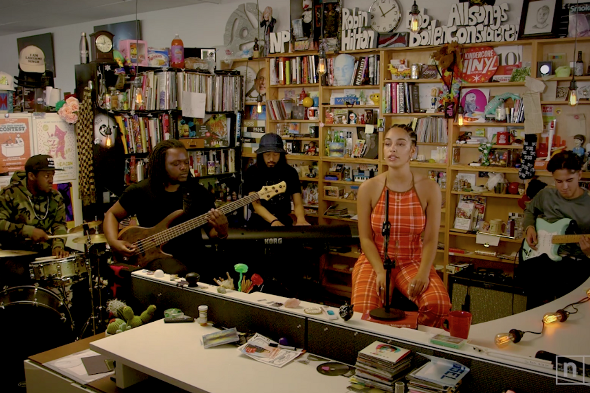 Jorja Smith Radiates Confidence at Her Tiny Desk Concert