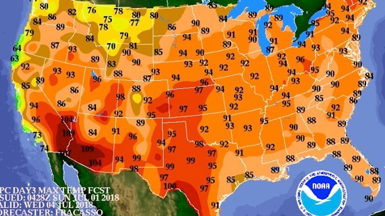113 Million Americans Under Heat Warnings Ahead of July 4