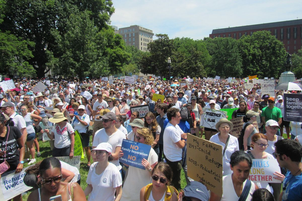 At Families Belong Together Day of Action, Leaders and Protesters Ask, How Did We Get Here?