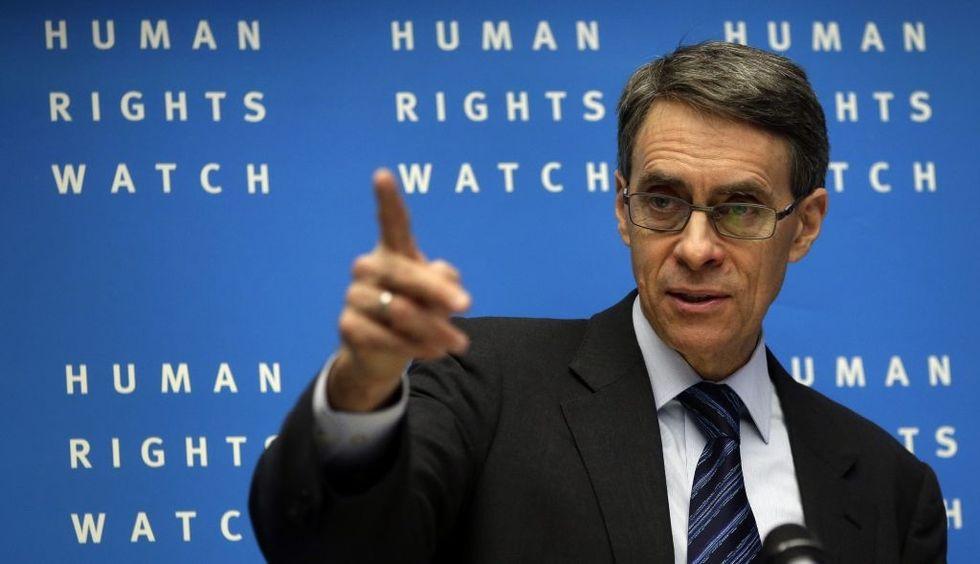 Human Rights Watch Peddles Propaganda
