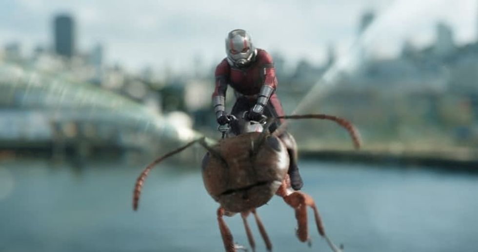 the new 'ant man' movie is coming out so It's time to rank every movie from the mCU