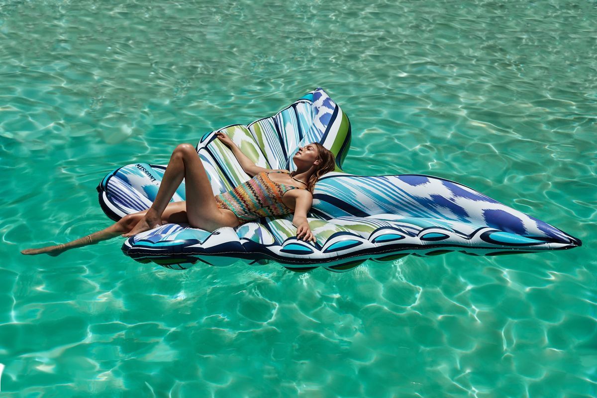Missoni's Butterfly Pool Float Is the Definition of Extra