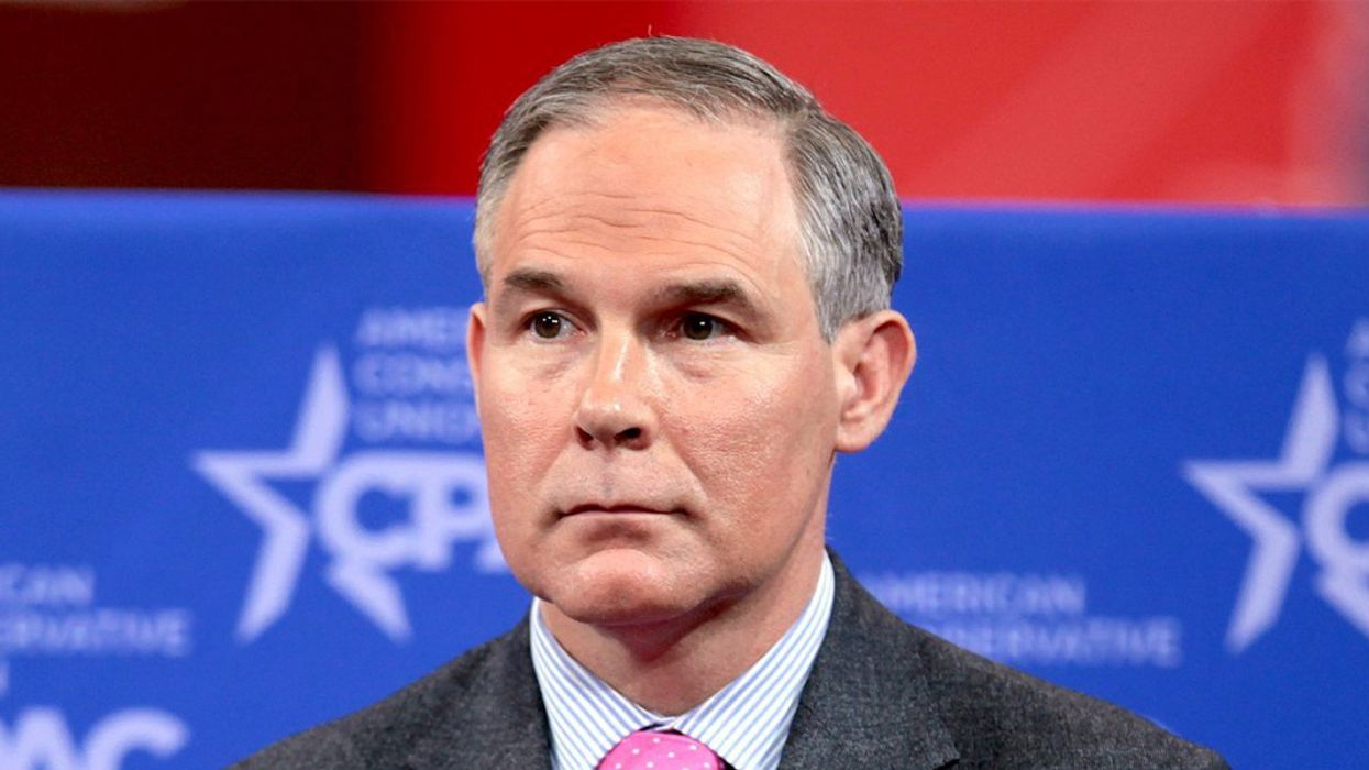 'Victory for People and the Planet' as EPA Chief Scott Pruitt Resigns