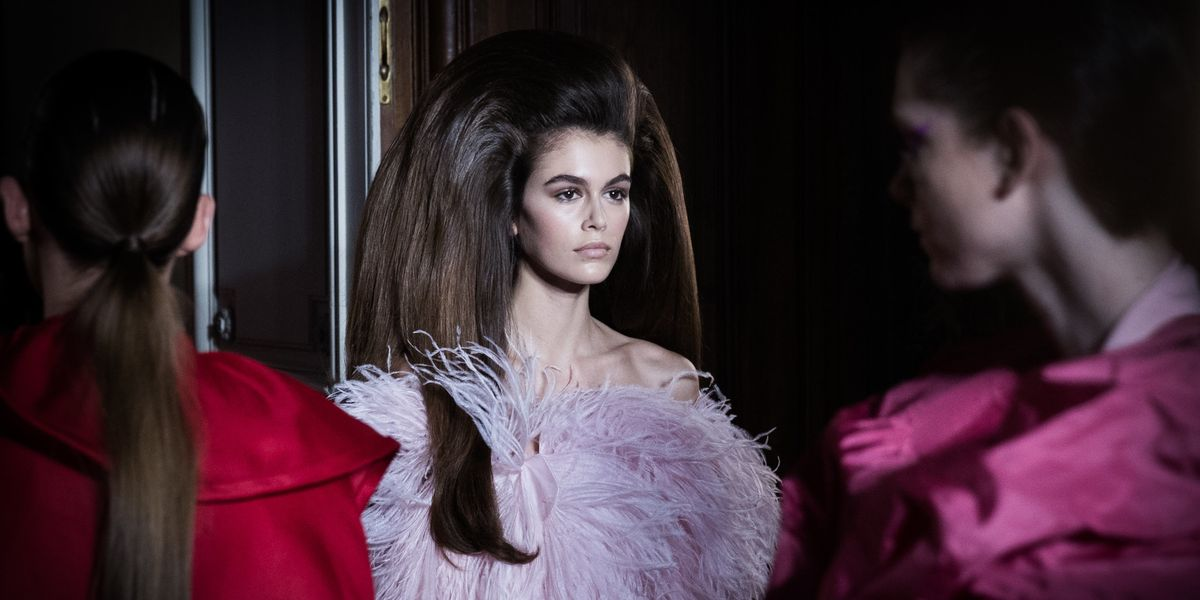 In Kaia Gerber's Honor: A History of Huge Hair