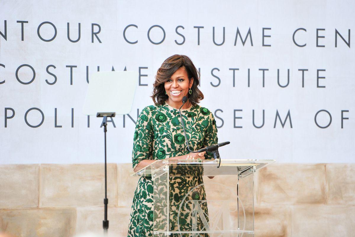 Michelle Obama Inspired Therese Patricia Okoumou