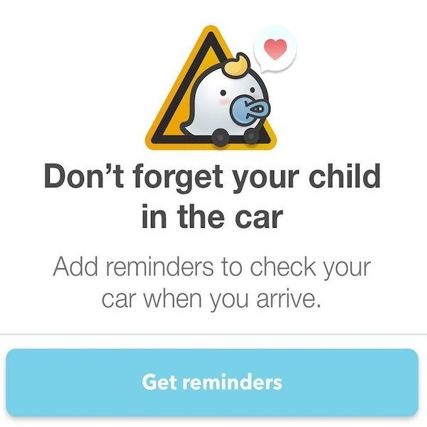 5 safety apps that remind parents there's a baby in the back