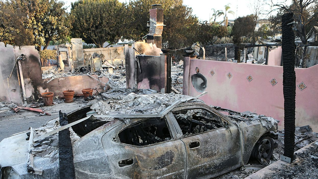 Wildfires, Record Highs Scorch California
