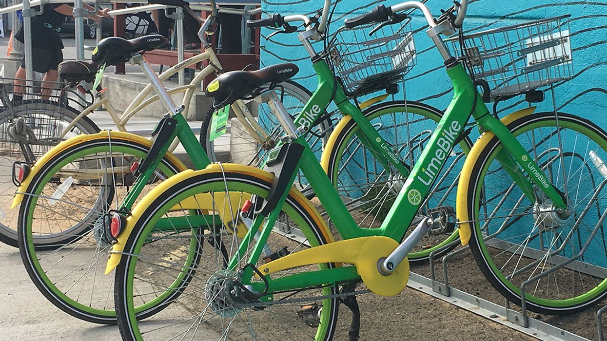 What Can Dockless Bikes Tell Us About Cities?
