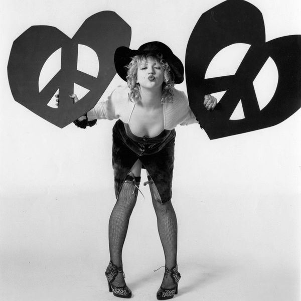 Courtney Love Poses for PAPER in 1986