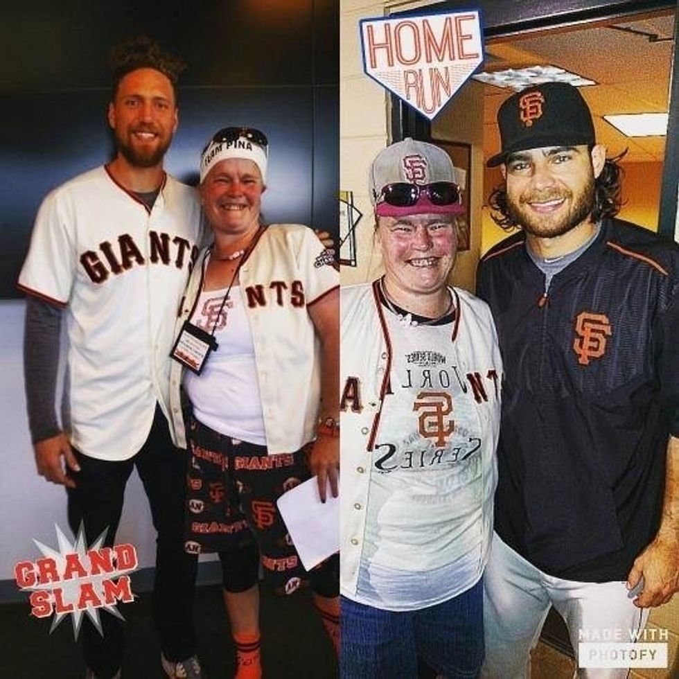 You Are About To Be Blown Away By This Giants Fan's Story