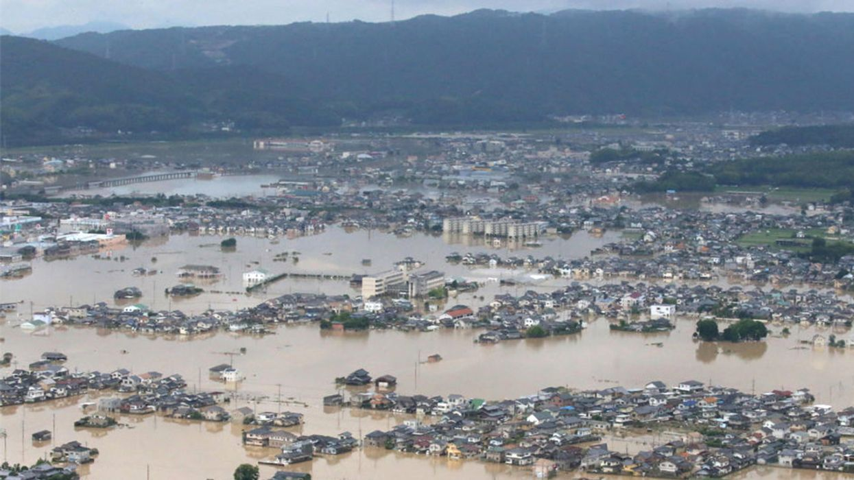 Historic Floods in Japan Kill More Than 100, Force Millions to Flee