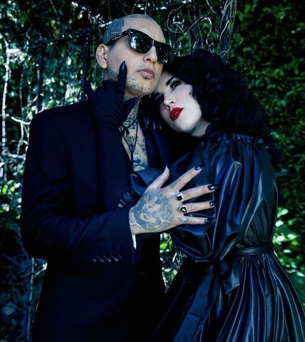 Kat Von D Won't be Vaccinating her Child & Her Fans are Heated