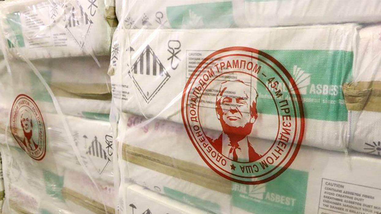 Russian Asbestos Company Makes Trump Its Poster Boy