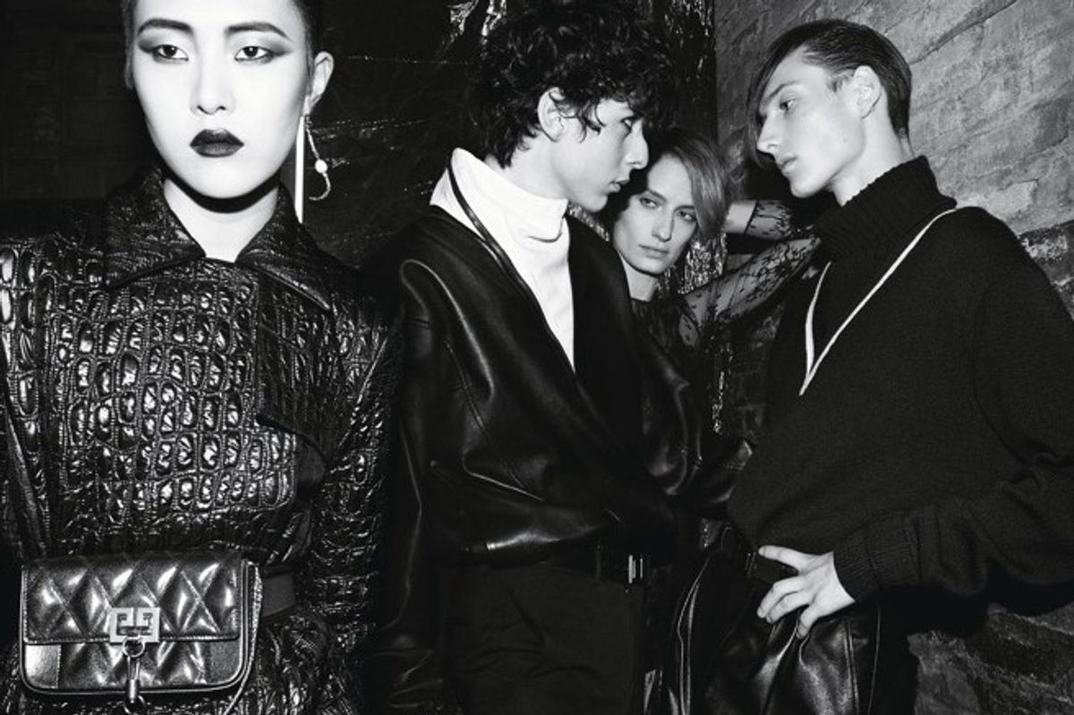 Givenchy's New Campaign Is a Dark, Sexy Nightclub Romp