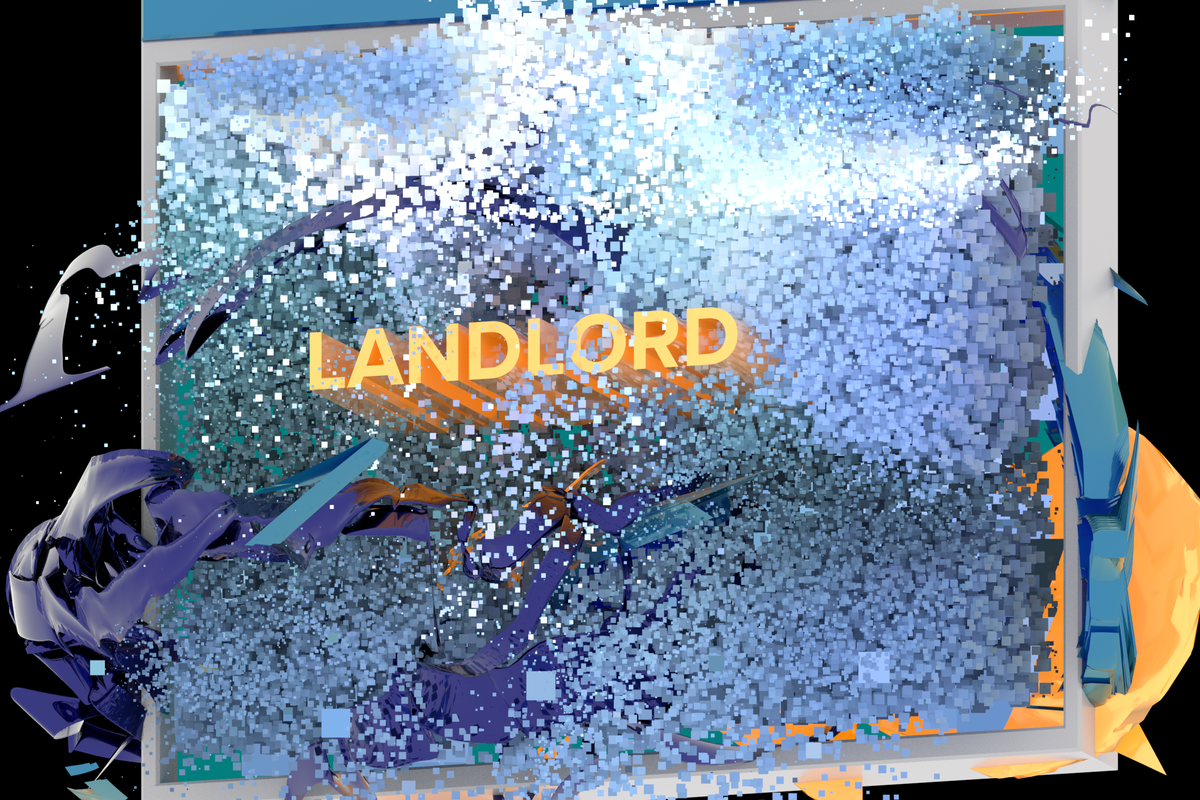 Meet The Design Duo Behind Landlord's OS-inspired Runway Visuals