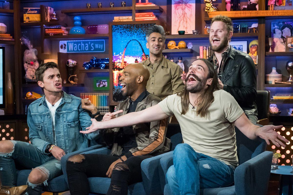 Watch Jonathan Van Ness Freak Out Over Emmy Nods