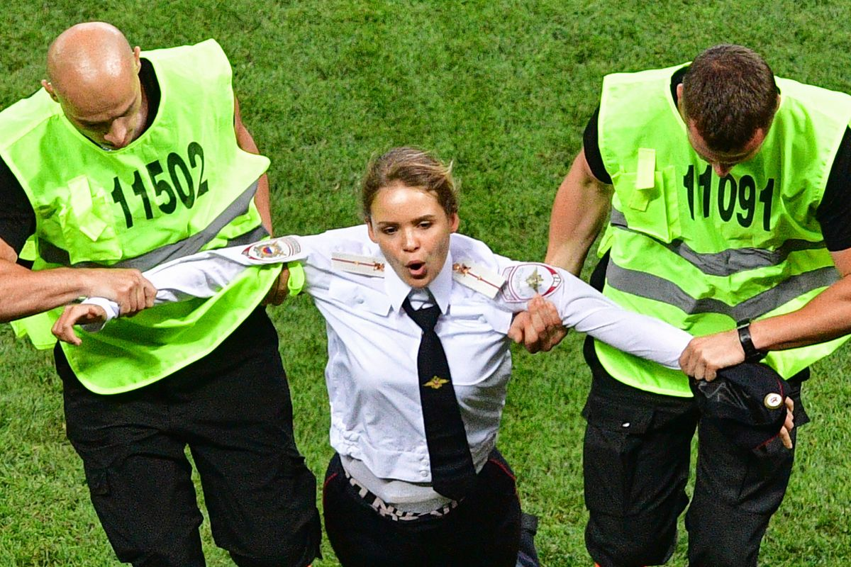 Pussy Riot Drops New Video Following World Cup Protest