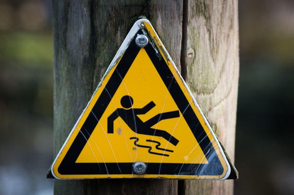 https://www.pexels.com/photo/sign-slippery-wet-caution-4341/