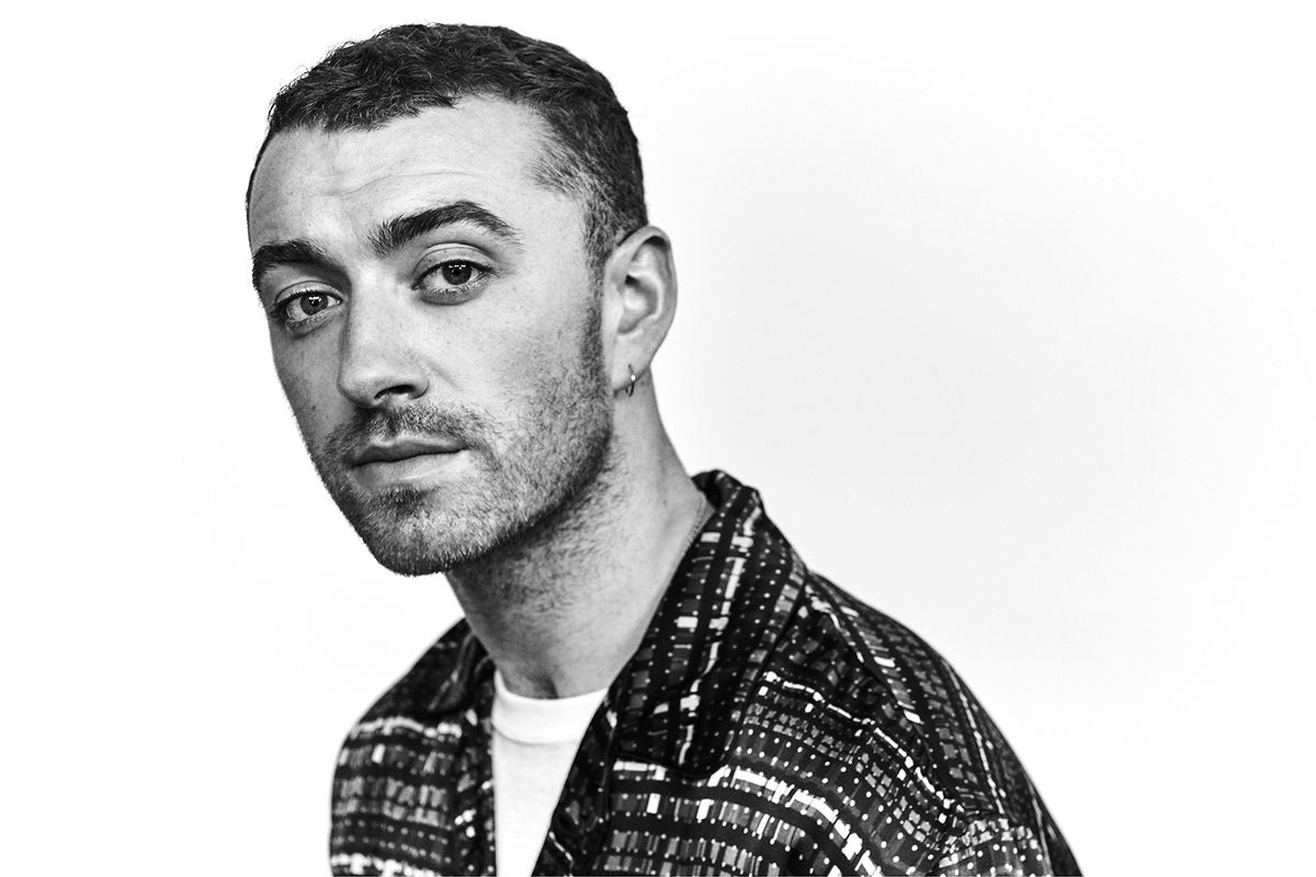Sam Smith Perfected the Hard-to-Master Cat Eye