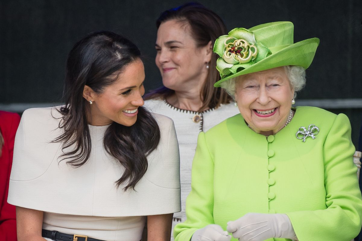 The Duchess of Sussex Chooses Givenchy Again