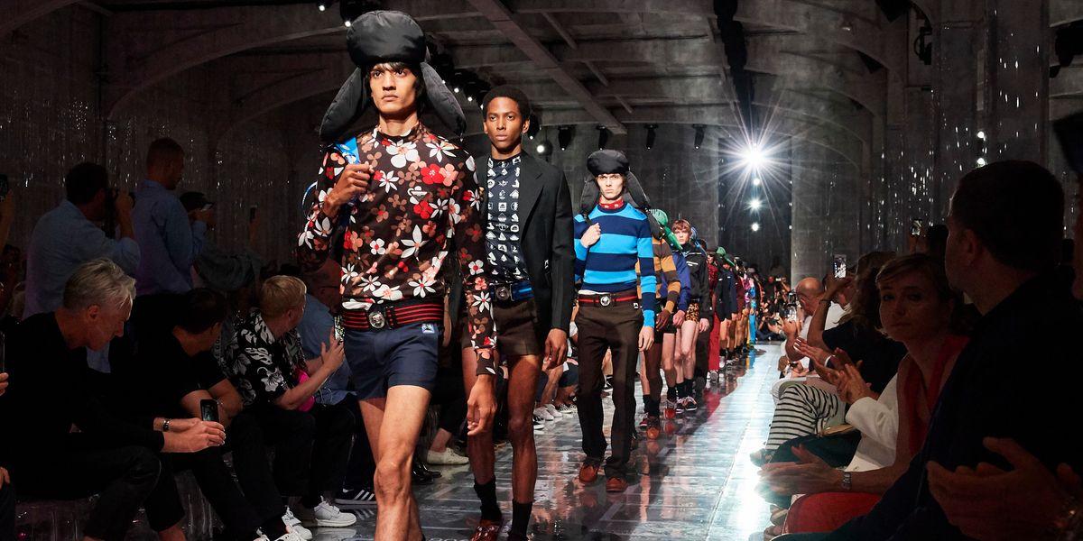 Prada Puts Miniskirts on Men