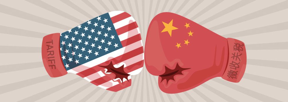 China and United States- near trade war
