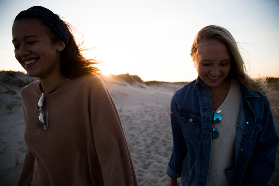 Do you know how to find a clam, or do you just wear a cape cod bracelet?