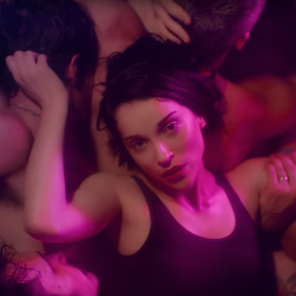 St. Vincent Swims in a Sea of Men for 'Fast Slow Disco'