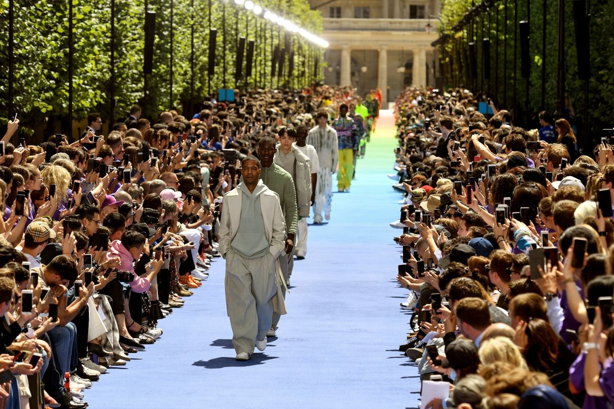 Everything That Happened at Virgil Abloh's First Louis Vuitton Show
