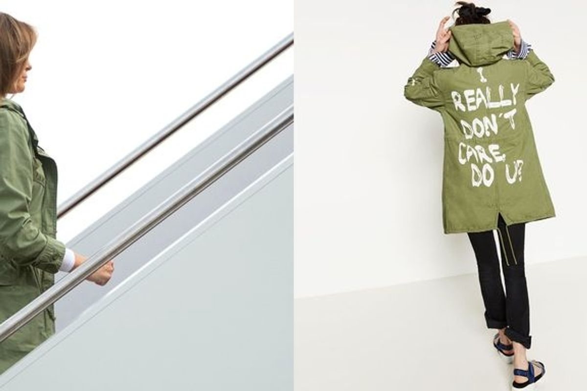 Melania Trump's Tone-Deaf Jacket Is a Distraction