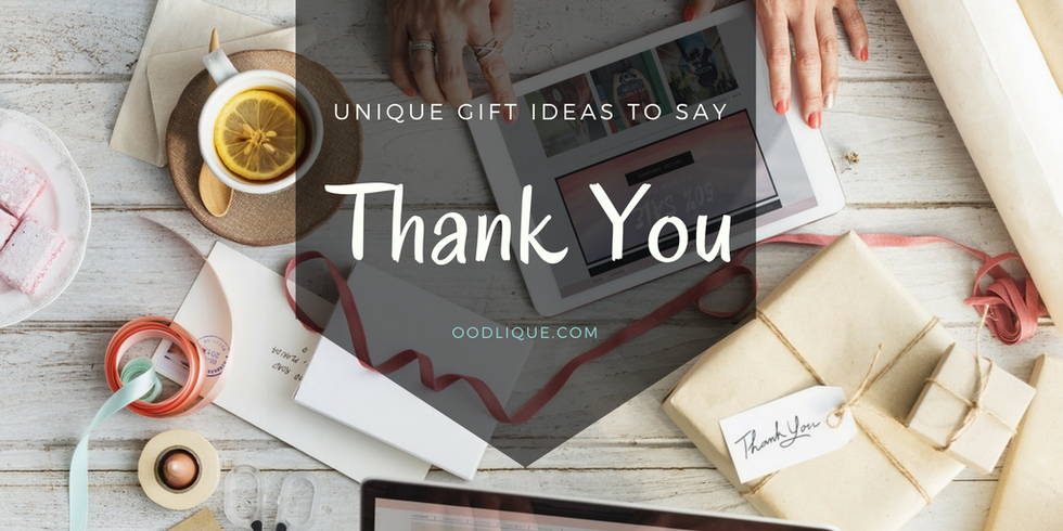 10 Unique Inexpensive Thank You Gift Ideas 2018