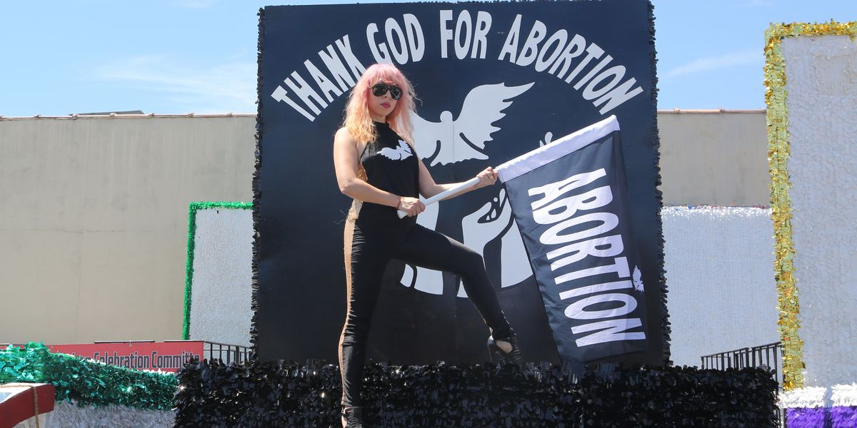 'Thank God for Abortion' Float Comes to Pride