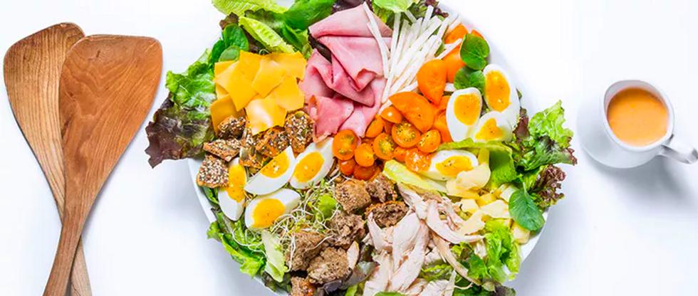 Best Salads From Around The World Chefs Salad USA