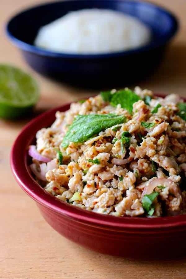 Best Salads From Around The World Larb Salad Thailand Laos