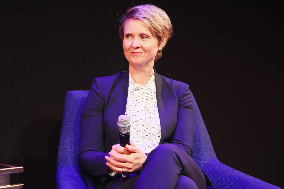 Cynthia Nixon Says She's 'So Proud' of Transgender Son