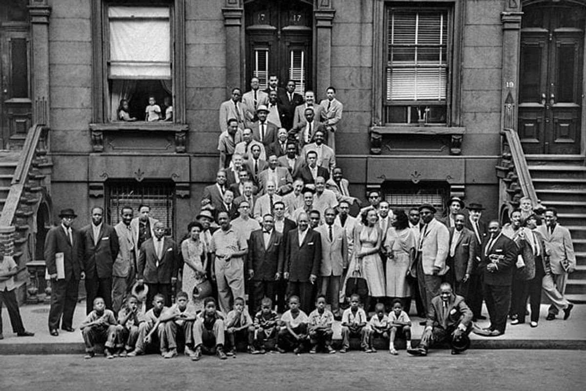 Netflix Actors Recreate 'A Great Day In Harlem' Photo