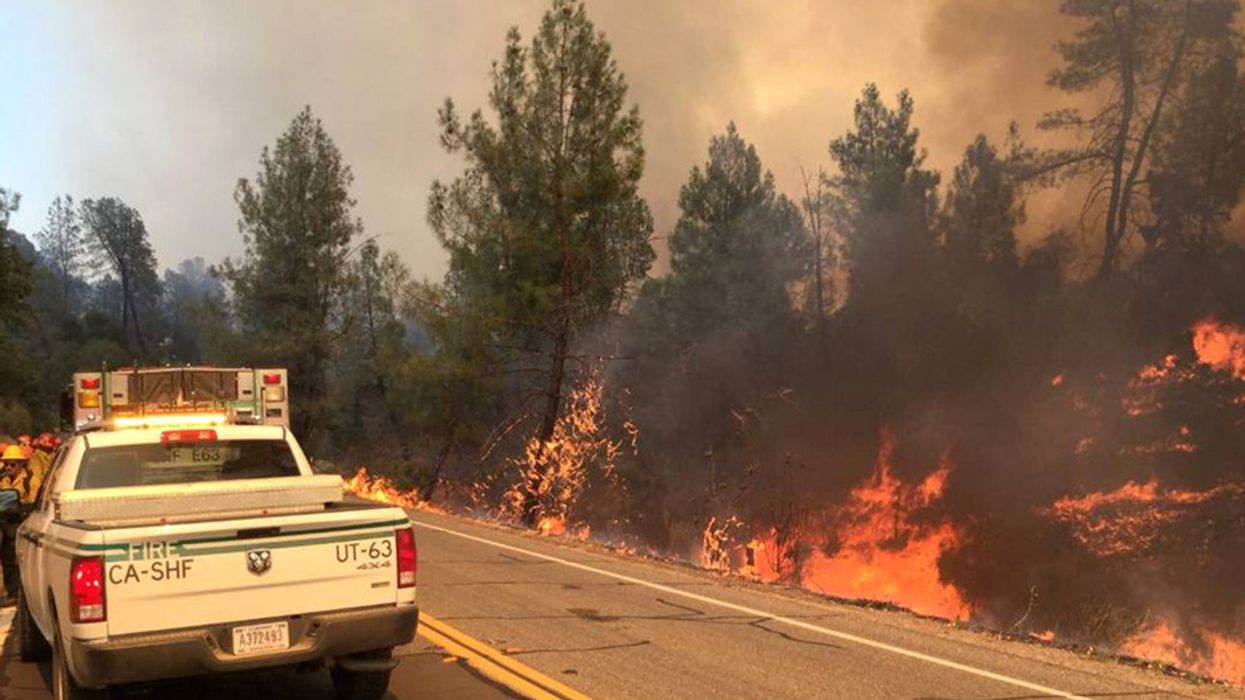 2,500 Forced to Flee as California Wildfire Season Heats Up