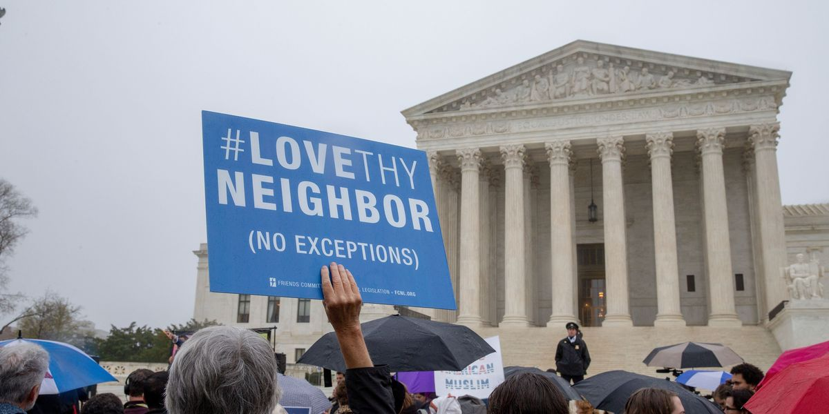Supreme Court Upholds Trump's Ban on Muslim Immigration