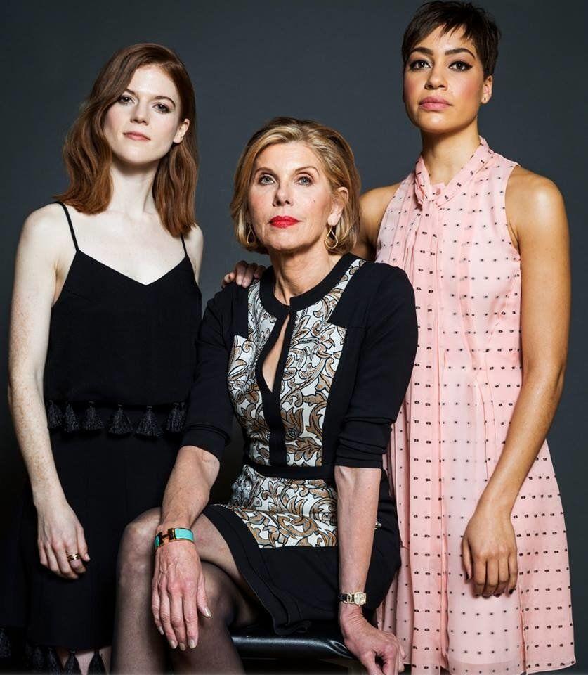 Rose Leslie, Christine Baranski, Lucca Quinn